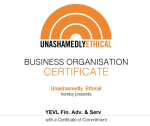 Small Certificate